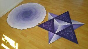 "Mandala unique double : Merkaba & Fleur de vie 48"" diamètre Gatineau Ottawa / Gatineau Area image 3"