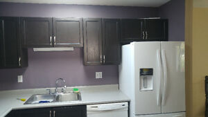 Used Kitchen Cabinet Set, Counter Tops, Microwave