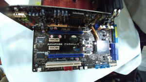 Asus 775 motherboard with Intel Q9550 CPU and 4Gb PC2 8500 ram