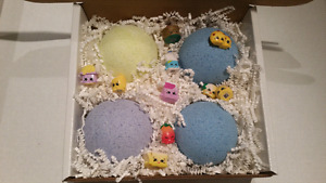 Surprise shopkins  bathbombs