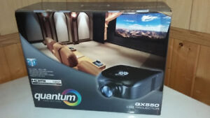 3D HOME THEATER PROJECTOR + SCREEN & GLASSES