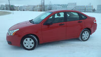 08 FOCUS - auto  - 4 doors - AC - NEWER TIRES - ONLY 78,000KMS