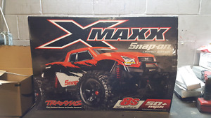 traxxas x maxx snap-on limited edition brand new
