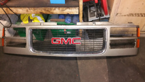 Front grill 98 Chevrolet and headlights