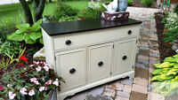 Classic Duncan Phyfe Painted Buffet- Must See!!