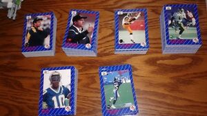 546 cards of AW Sports 1991 CFL - lot