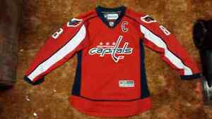 OVECHKIN replica  Jersey youth s/m (last one) Windsor Region Ontario image 1