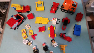 ASSORTED DUPLO LEGO TOY LOTS