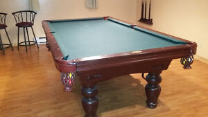Wooden Pool Table For Sale