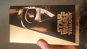 Star Wars Trilogy 1997 Special Edition VHS