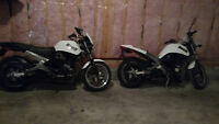Harley Davidson Buell with spare bike for parts.