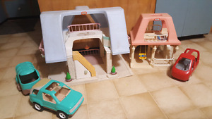 Little Tikes houses