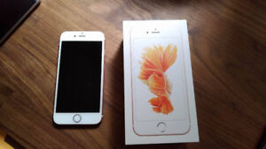 Unlocked Iphone 6S Rose Gold 16gb Near Mint