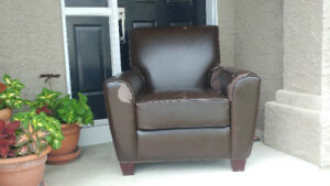 Free bonded leather chair