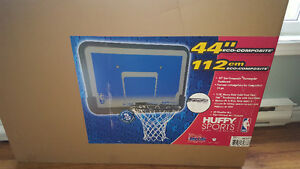 Brand new (unopened) huffy sports/Spalding 44' backboard and rim