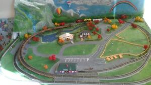 AN OLD HOBBY NOT SO OLD. MODEL TRAIN'S