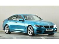 2018 BMW 4 Series 420d [190] M Sport 5dr Auto [Professional Media] Coupe diesel