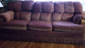 Couch & Bench-style sofa for Sale!