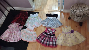 6-12 month baby girl dresses some brand new