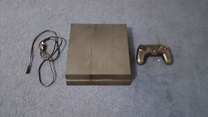 Selling PS4 with cooling system and games