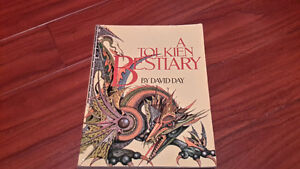 A TOLKIEN BESTIARY PAPER BACK BOOK