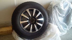 Snow Tires with Rims 215/70 R16