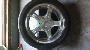 Alloy Rims and Tires