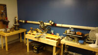 Wood Shop Power Tools Workshop
