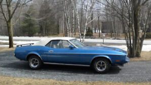 mustang 1973 decapotable match number