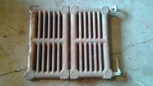 antique cast iron radiator