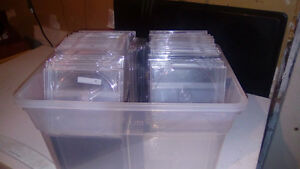 Cd jewel cases, black, clear and single size. Kitchener / Waterloo Kitchener Area image 1
