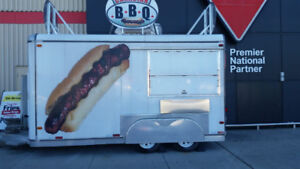 Food trailer and spot for sale