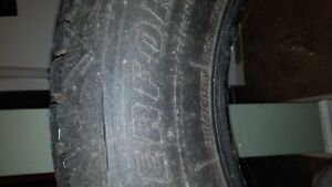2 Winterforce Snow Tires - 215/70 R15-Winter & Snow Not Done Yet