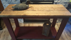 Coffee End Sofa Console Harvest Table Nightstands Nightstands