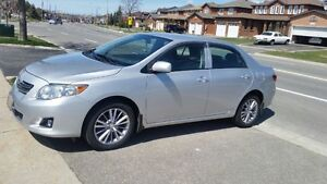 2009 Toyota Corolla le fully loaded