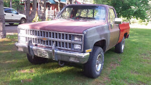 1981 Chev 4x4 short box