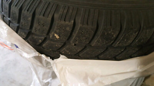 GM 6 bolt rims and tires