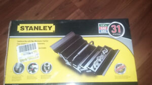 stanley toolbox with tools brand  new $40