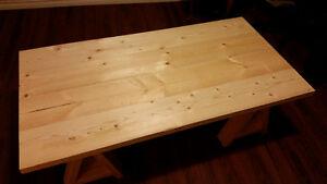 Sawhorse coffee table St. John's Newfoundland image 4