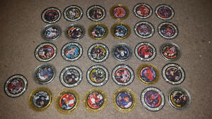 Old RARE vintage metal hockey pogs all in excellent condition!!! London Ontario image 1