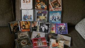 Pop, Country & Miscellaneous cds.
