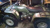 Je cherche Honda TRX 300 88-92 plastiques complets vert olive