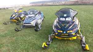 Two sled package  for sale or seperate