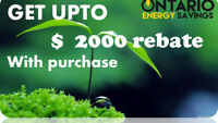 HVAC needs only for $50ALL OVER ONTARIO – GET UPTO $2000 REBATE
