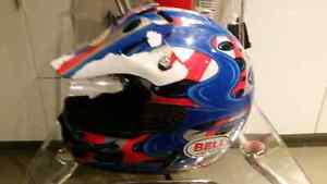 Dirt bike helmet and chest back protector Windsor Region Ontario image 4