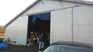 large covered bay for storage or parking south surrey