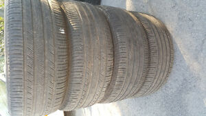 255/50R19 Michelin Set