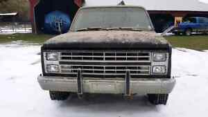 Chev 1500 4x4 long box
