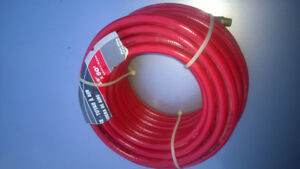 Rubber Air Hose 3/8-Inch I.D. by 50-Feet Red