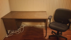 Desk add on and chair